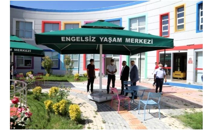 Engelsiz Yaşam Merkezi, sıkı tedbirlerle hizmete açılıyor