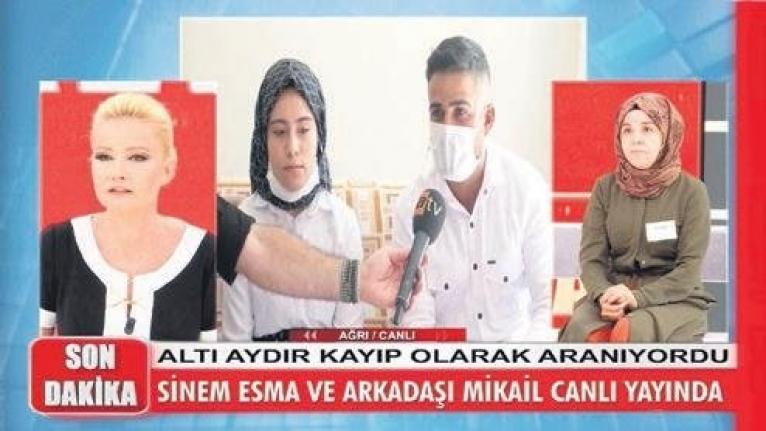 Zihinsel engelli Esma, Martta İstanbul'da kaybaldu Eylül'de Ağrı'da bulundu