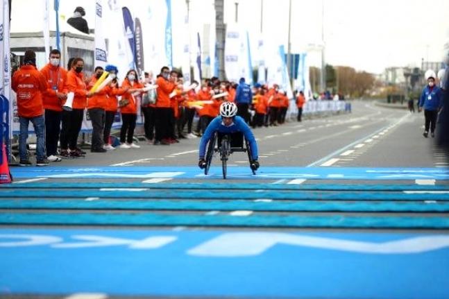 42. İstanbul Maratonu'nda parkur değişti, şampiyonlar değişmedi