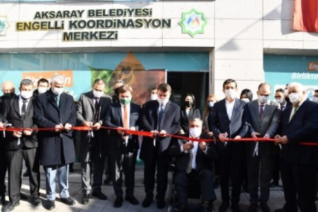 3 Aralık Dünya Engelliler Gününde Engelli Koordinasyon Merkezi Açıldı