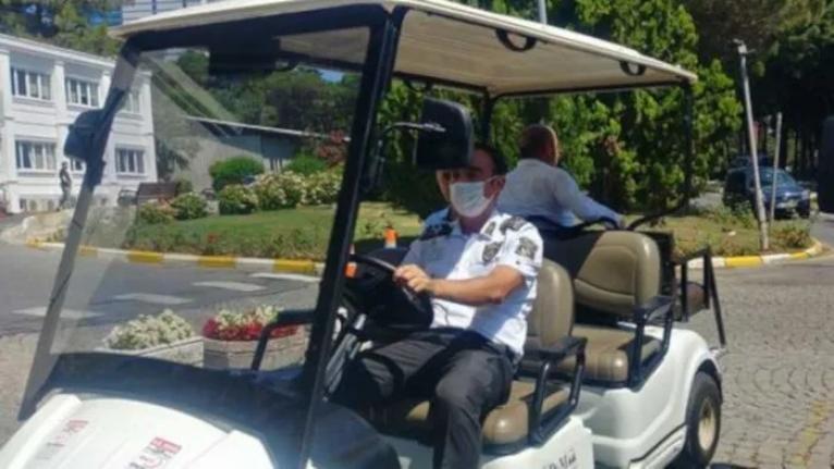 İBB'den golf arabası yanıtı: Yaşlı ve engelliler için aldık