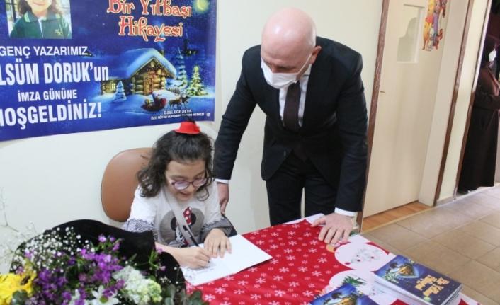 Bedensel Engelli Gülsüm Doruk 10 yaşında kitap yazdı