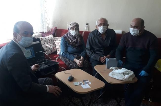 Engelli ve yaşlı bireylerin çipli kimlik kartı almasına kolaylık