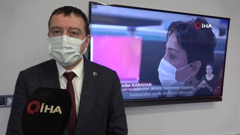 Pandemide görme ve işitme engelliler için belgesel yaptılar