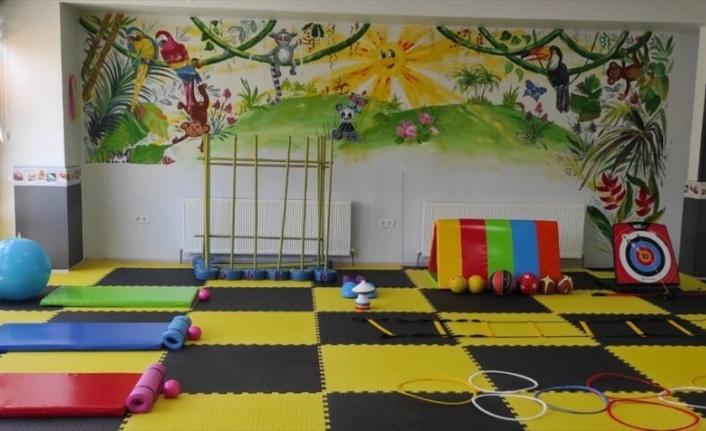 Zihinsel engelli ve otizmli çocuklara yönelik spor kulübü açıldı