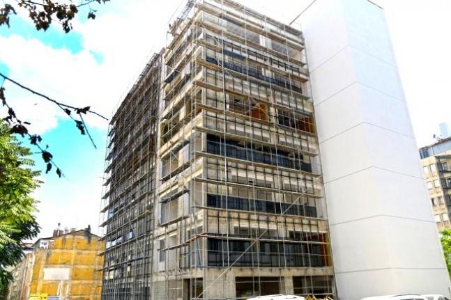Elazığ'da Engelsiz Yaşam Merkezi inşaatında sona gelindi.