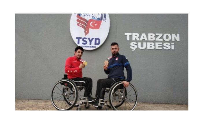Öztürk kardeşler: Madalyamız ülkemize ve Trabzon'a hayırlı olsun