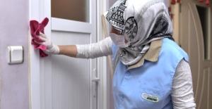 Engelli vatandaşlara ücretsiz temizlik hizmeti
