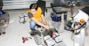negöl ilçesinde engelli vatandaşların araçları ücretsiz tamir ediliyor