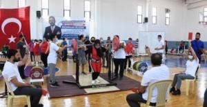 Görme engelli milli halterciler Ankara'da kamp yapacak