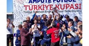 Etimesgutspor, Türkiye Ampute Kupası Şampiyonu oldu