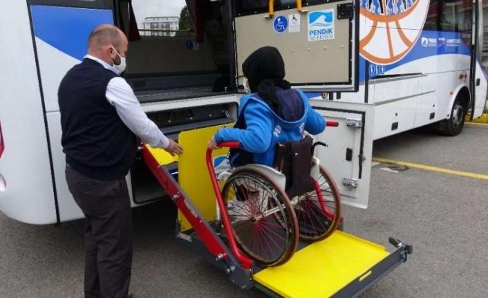 Engelli sporculara asansörlü otobüs - İstanbul haber